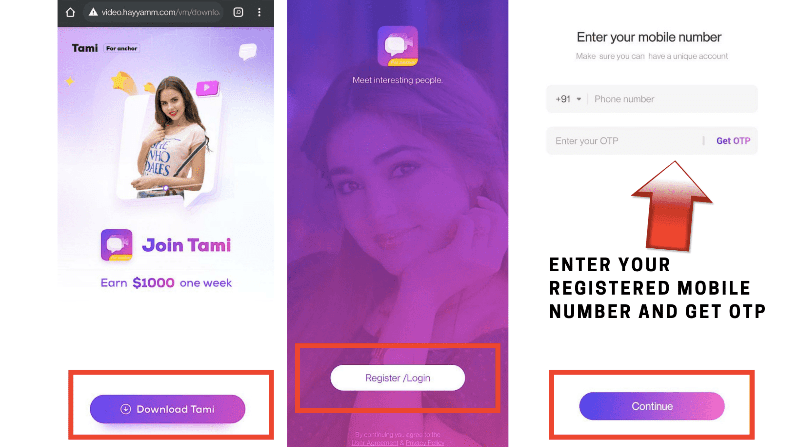 Tami For Anchor App Download